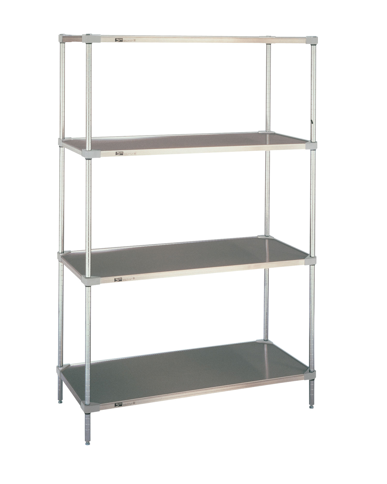 Stainless Steel Shelves Metal Shelvings Cheap Boltless Rivet Shelving With Wire Deck With